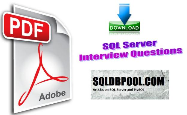 Download SQL Server Interview Question in PDF | SQLDBPool – OLTP