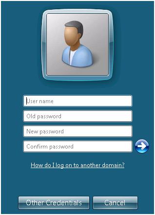 windows change domain password remotely