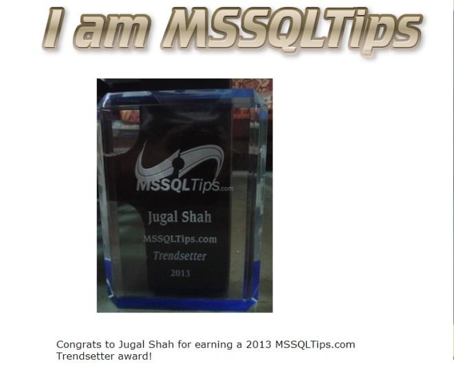 MSSQLTipsAward